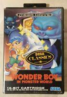 Wonder Boy in Monster World SEGA MEGA DRIVE 1992 Action/RPG Westone