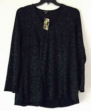 Karen Kane Plus Size Diamond Dust Top. Size 1X.
