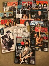 Guitar World Magazine 2014 Complete Year 13 Issues 65 Tabs Plus Many Lessons