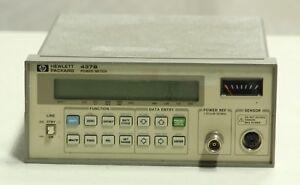 HP (Agilent) 437B Power Meter (no sensor, or cables)