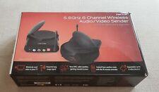 Nyrius GS3200T 5.8GHZ Wireless TV Audio Video AV Receiver Transmitter