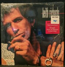 Keith Richards ‎Talk Is Cheap Virgin 7 90973-1 Cover in Shrink w/ Hype Sticker