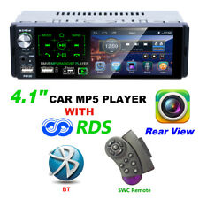 "4.1"" In-dash Audio Car HD Radio Stereo Bluetooth MP5 Player 1 DIN AUX 2 USB FM"