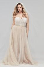 "Wtoo 16718 ""Catherine"" Size 10 Ivory Wedding Dress"