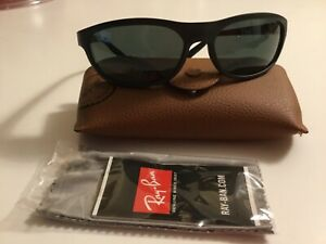 Ray-Ban Sunglasses Black Frame Green Lens RB4114 601-S/71 BRAND NEW & AUTHENTIC