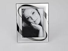 Fotorahmen Bilderrahmen Kreis für 15x20cm Silber Formano