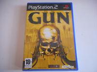 JEU PLAYSTATION 2 - GUN - COMPLET