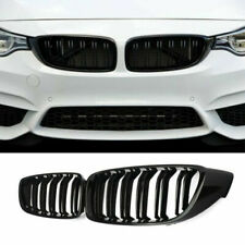 Matte Black, BMW 4 Series F32 F33 F36 Double slat M-Performance Kidney Grille