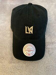 LAFC Mitchell & Ness Logo Adjustable Hat - Strapback