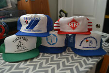 e7a743bc Vintage Trucker Hat Lot of 5 Mesh All California Bay Area Snapback RARE NEW  A