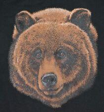 Men's Sweatshirt Bear Head Design Size Large