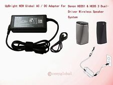 20V AC Adapter For Denon HEOS 1 HS2 & HEOS 3 Wireless Bluetooth Speaker Charger