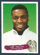 PANINI PFA FOOTBALL 97 #248-ASTON VILLA-SHEFFIELD WENESDAY-PORT VALE-IAN TAYLOR