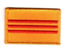 Toppe Toppa PATCH VIETNAM DEL SUD Bandiera banderina ricamata termoadesivo