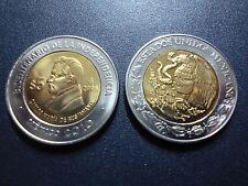 MEXICO COMM. BIMETALLIC COIN 5 Pesos KM896 UNC 2008 - Carlos María de Bustamante