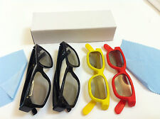 NEW Family Pack (2 Pairs adult+ 2 Pairs kids) Vizio Theater 3D Passive 3D Glass
