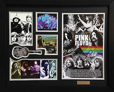 Pink Floyd Limited Edition Signature Framed Memorabilia (b)