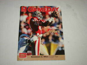 NFL Gameday Official Game Program San Francisco 49ers v Tampa Bay '87 Jerry Rice