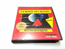 LA BOSSE DES MATHS / COKTEL VISION TO8 TO9 DISQUETTE 3P 1/2 EN BOITE ET NOTICE