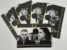 U2 JOSHUA TREE OFFICIAL POSTCARD FROM 2010 JOB LOT OF 5
