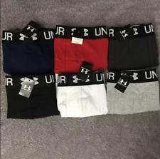 3 PCS-Men's Under Armour shorts underwear seamless breathable(No box)