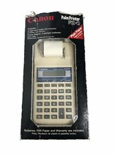 New ListingVintage Canon Pz-D Printing Calculator Palm Printer Tested And Works With Box