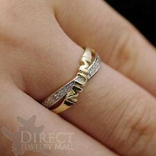 9ct  REAL GOLD GENUINE DIAMOND MUM Ring Mother Gifts Full Size HIJ-TUV