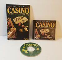 Hoyle Casino PC CD-Rom 1999 windows game compilation + Manual