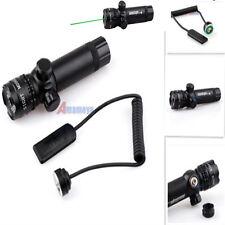 Tactical Rifle 980ft/300m Long Range Green Dot Laser Sight Light Scope w Switch*