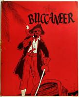 1966 Original Menu THE BUCCANEER Restaurant Pirate Cover