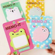 Cartoon Sticker Post It Bookmark Mark Index Tab Memo Sticky Notes 1pc ♫