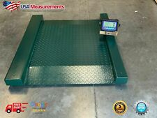 Us Ld3131 Drum Barrel Scale 31x31 5000 X 1 Lb Floor Scale With Display