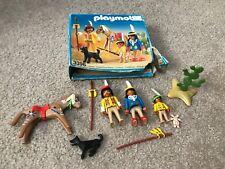 Playmobil 3396 Western Indian Family w/Box