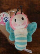 Nici Schlüsselanhänger Falter Schmetterling Bean Bags Talisman Hello Spring Blau