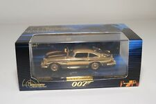 MINICHAMPS ASTON MARTIN DB5 JAMES BOND 007 GOLD PLATED MINT BOXED RARE