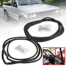 Rubber Weatherstrip Seal Mazda B Series B2000 B2200 B2600 85-98 Pickup 2 Doors (Fits: Mazda)