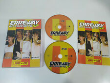 ERREWAY EN CONCIERTO CD + DVD ALL REGIONS REBELDE RBD Camila Felipe Luisana