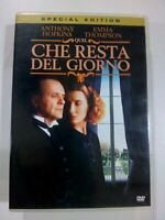 QUEL CHE RESTA DEL GIORNO Anthony Hopkins Thompson special edition DVD