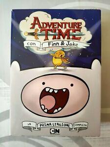 """""""Adventure Time con Finn & Jake""""  cofanetto 1a stagione 3 dvd nuovi"""