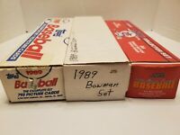 Big Lot Of 1989 1988 Topps Bowman Score Baseball Cards Boxes Collector 10lbs