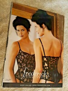"""Frederick's of Hollywood Women's Fashion Catalog - """"Autumn Enticements 1999"""" Iss"""