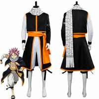 Anime Fairy Tail Final Season Etherious Natsu Dragneel Outfit Cosplay Costume