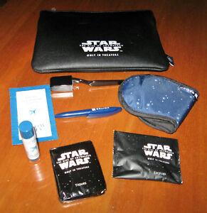 United Travel Kit Lucasfilm Star Wars Advertising Rise of Skywalker Movie Promo