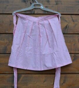 Pink Bavarian apron Dirndl apron Oktoberfest apron German apron Trachten apron