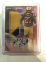 Darrell Henderson Patch Auto 2019 Origins RC Los Angeles Rams Rookie 60/99