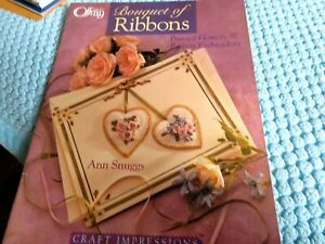 Bouquet of Ribbons by Ann Snuggds (ribbon embroidery)