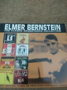 Elmer Bernstien Soundtrack Collection - 4 x CD Boxset - Elmer Bernstein