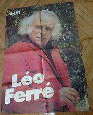 LEO FERRE 70s  RARE AFFICHE FRENCH POSTER ORIGINAL