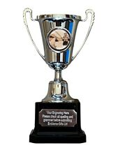 Fly Fishing Silver Moment Cup Award Trophy (H) ENGRAVED FREE