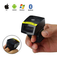 New Bluetooth 2D QR Wearable Ring-style Professional Finger Barcode Scanner FS02